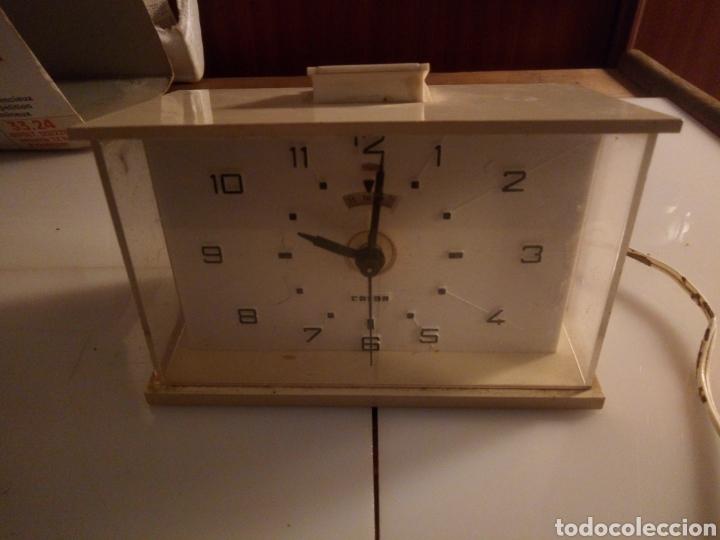 Vintage: Reloj despertador eléctrico Calor. Francia. Años 60-70. - Foto 2 - 190871307