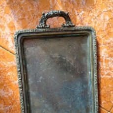 Vintage: BANDEJA ALPACA. Lote 191180658
