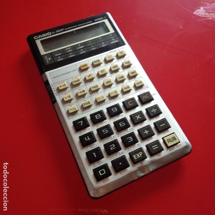Vintage: Calculadora Casio FX 3800P - Foto 2 - 191209625