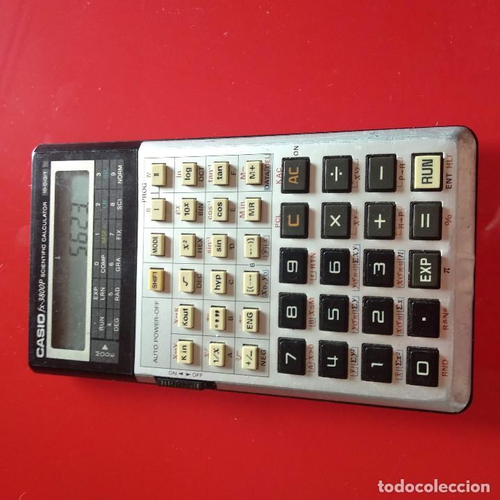 Vintage: Calculadora Casio FX 3800P - Foto 9 - 191209625