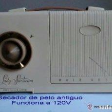 Vintage: SECADOR ANTIGUO DE PELO AÑOS 1960 LADY SUN BEAN .IDEAL COLECCIONISTAS O DECORACIÓN. Lote 191474767