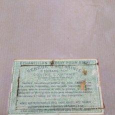 Vintage: CAJA DE MADERA DE MEDICAMENTO FRANCÉS AÑOS 10. Lote 191476976