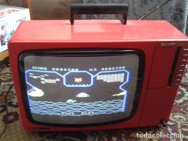 TV. TELEVISIÓN SHARP MODELO C-1401 DE 14 PULGADAS. COLOR (Vintage - Varios)