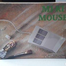 Vintage: RATON- MOUSE MI-KI FOR IBM PC 286/386 PS2 COMPATIBLE- MADE TAIWAN- VINTAGE 3 BOTONES. Lote 192604271