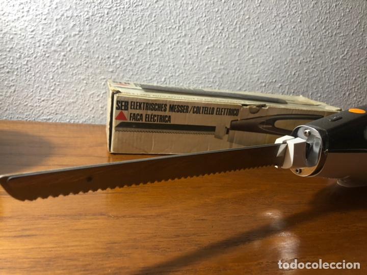 Vintage: Cuchillo eléctrico Francés SEB 516 vintage - Foto 8 - 192733312