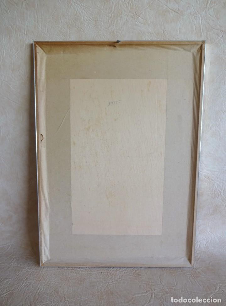 Vintage: cuadro con lamina de charles chaplin por paula monti 50 cm x 36 cm - Foto 6 - 121466543