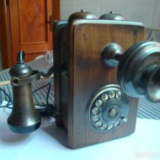 Vintage: TELEFONO DE TROMPETA. Lote 193700400