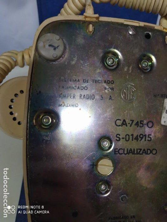 Vintage: Antiguo teléfono vintage. Fabricado por CITESA. Málaga. - Foto 4 - 193755277