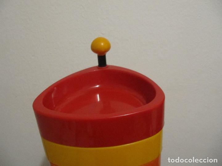 Vintage: Precioso frutero vintage años 70 para aperitivos bandejas en plastico duro varios colores - Foto 3 - 194254407