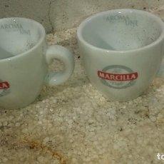 Vintage: DOS TAZAZ DE CAFE MARCILLA. Lote 194290743