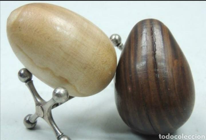 Vintage: Huevos de madera - Foto 3 - 194293763
