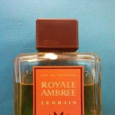 Vintage: ROYALE AMBREE LEGRAIN. EAU DE COLOGNE. USADA. Lote 194297400