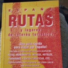 Vintage: ESPAÑA RUTAS. Lote 194341471