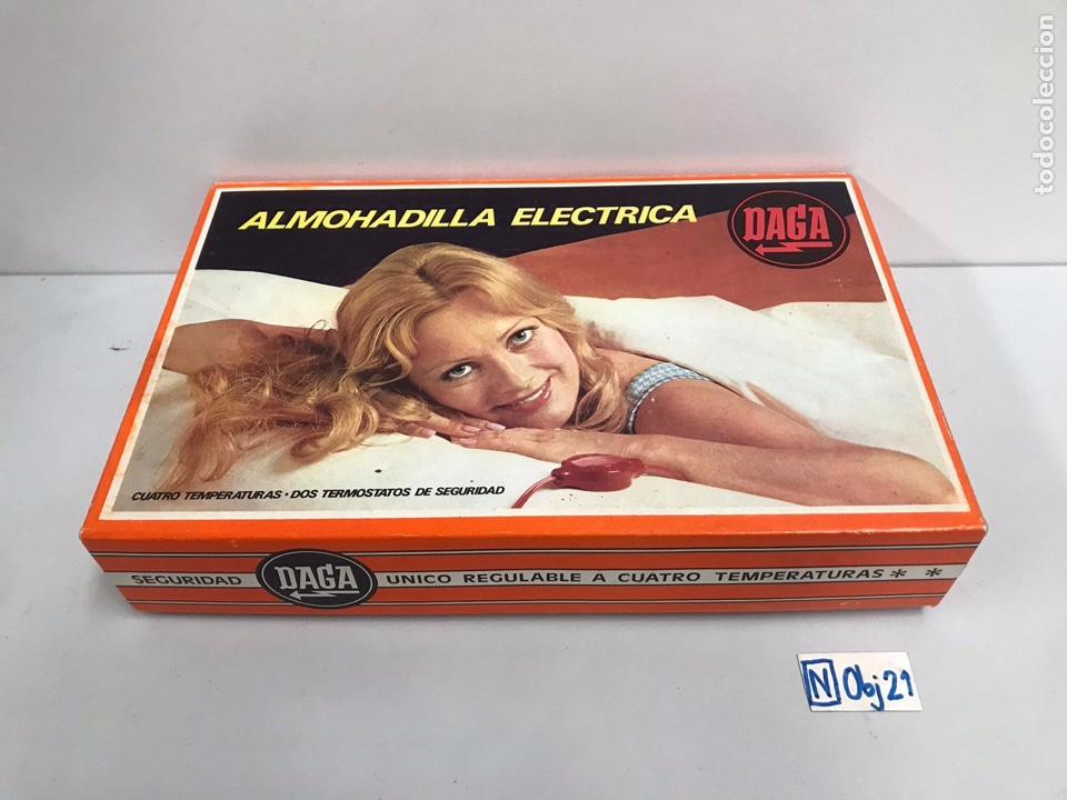 ALMOHADILLA ELÉCTRICA (Vintage - Varios)