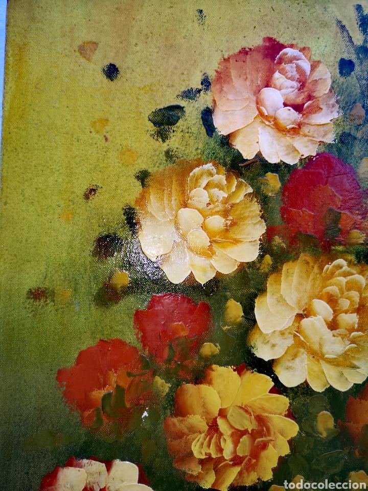 Vintage: Pintura al óleo sobre lienzo - Foto 2 - 194351605