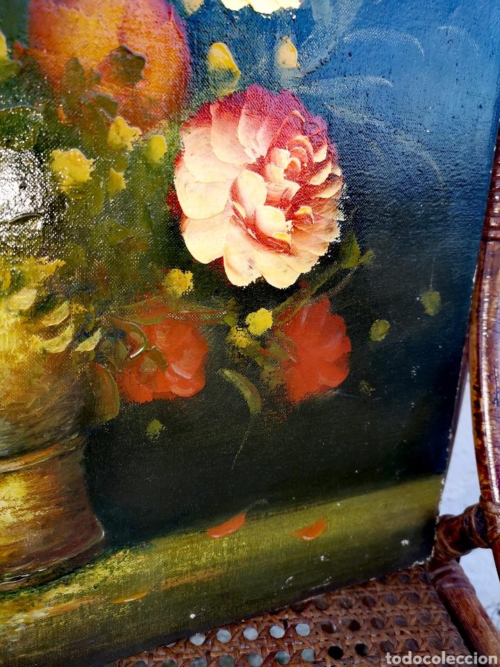 Vintage: Pintura al óleo sobre lienzo - Foto 5 - 194351605