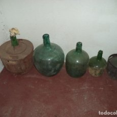 Vintage: LOTE DE DAMAJUANAS. Lote 194362275