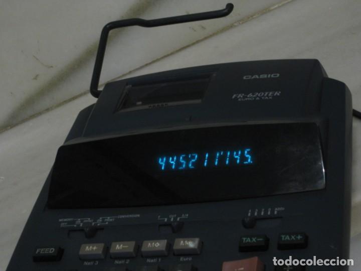 Vintage: Casio Fr-620 Ter. No esta probada con papel. - Foto 3 - 194523781