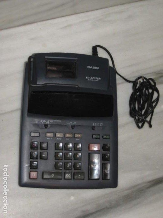 Vintage: Casio Fr-620 Ter. No esta probada con papel. - Foto 4 - 194523781