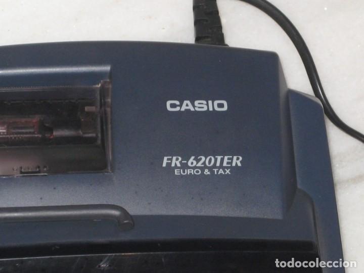Vintage: Casio Fr-620 Ter. No esta probada con papel. - Foto 5 - 194523781