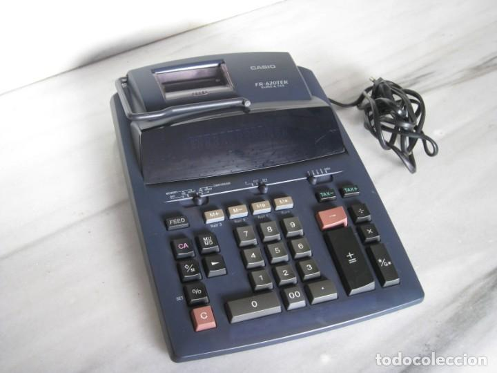 Vintage: Casio Fr-620 Ter. No esta probada con papel. - Foto 6 - 194523781