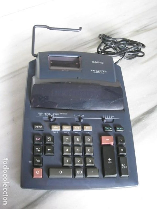 Vintage: Casio Fr-620 Ter. No esta probada con papel. - Foto 9 - 194523781