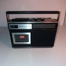 Vintage: RADIO CASETTE SANYO 4 WAY POWER AÑOS 70´S. Lote 194541722