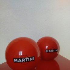 Vintage: 2 SOPORTES PARA MENÚ MARTINI. Lote 194594368