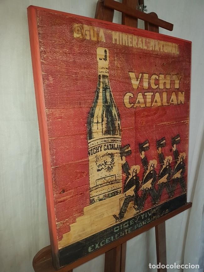 Vintage: CARTEL RETRO AGUA VICHY CATALAN - Foto 2 - 194666997