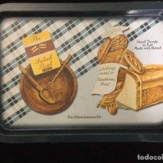 Vintage: VINTAGE BANDEJA METALICA DE GALLETAS THE SALAD. Lote 194688365
