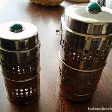 Vintage: BOTES DE NESCAFE DOS BOTES UNO PARA CAFE Y OTRO PARA AZUCAR. Lote 194741221