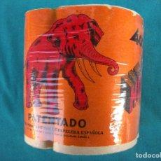 Vintage: ROLLO DE PAPEL WC ELEFANTE. Lote 194748301