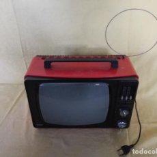 Vintage: TELEVISIÓN VINTAGE EN ROJO, INTER TV 418, A REVISAR. Lote 194751963