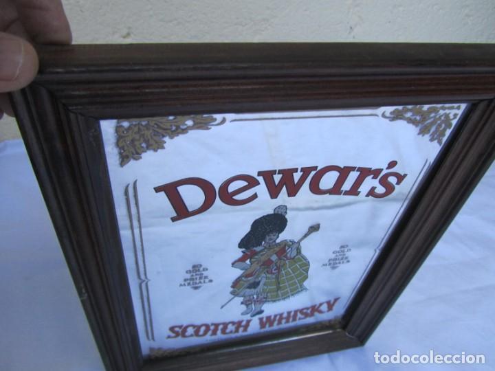 Vintage: Cuadro espejo de Dewars Scotch Whisky - Foto 4 - 194878865