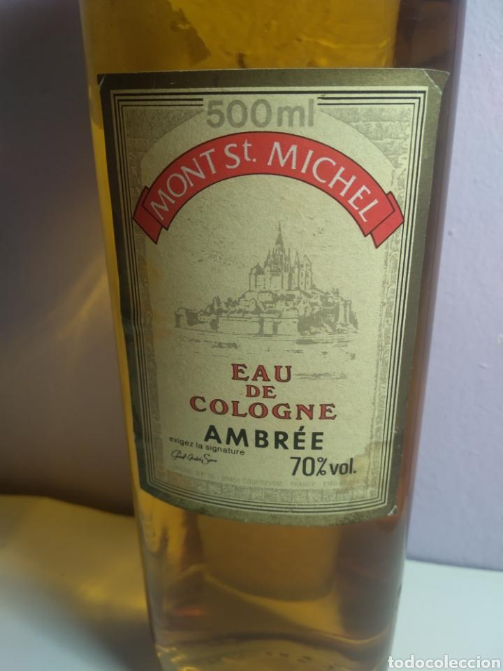 MONT ST MICHEL EAU DE COLOGNE AMBREE MADE IN FRANCE HUGE 500 ML SPLASH VINTAGE (Vintage - Varios)