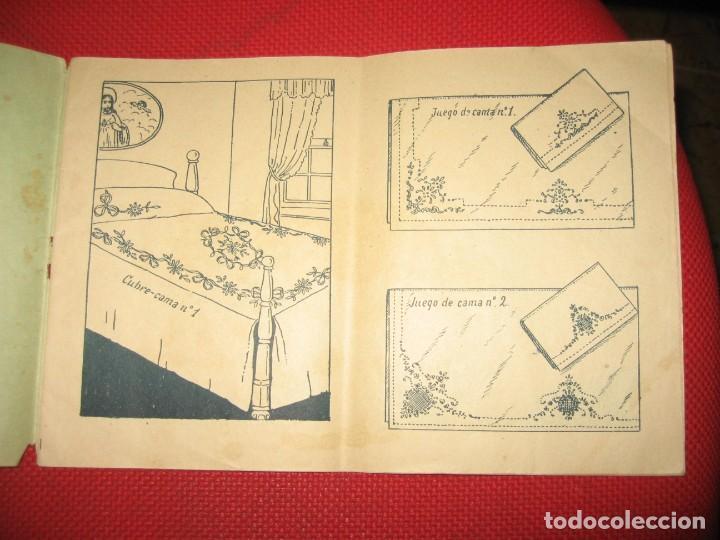 Vintage: NUEVA CANASTILLA DE LABORES DE LENCERÍA DE CAMA - Foto 2 - 194887788