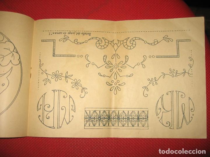 Vintage: NUEVA CANASTILLA DE LABORES DE LENCERÍA DE CAMA - Foto 3 - 194887788