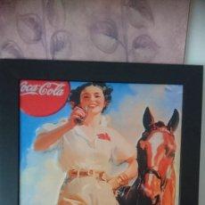 Vintage: CUADRO PUBLICIDAD DE COCA COLA. Lote 194906361