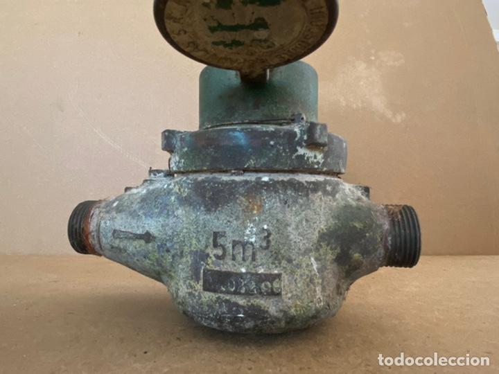 Vintage: Antiguo contador de agua en bronce Tavira, Elorriaga. Industrias españolas s.a. San Sebastián. 1965 - Foto 9 - 194936976
