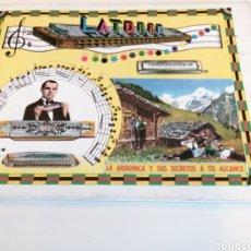 Vintage: LATORRE CHROMONIKA. LA ARMONICA Y SUS SECRETOS A TU ALCANCE. 1970. Lote 195023820