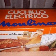 Vintage: CUCHILLO ELECTRICO MOULINEX. Lote 195045517