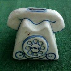 Vintage: ANTIGUA HUCHA PROMOCIONAL DE TELEFÓNICA. Lote 195100896