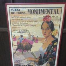 Vintage: CARTEL TAURINO. Lote 195126051