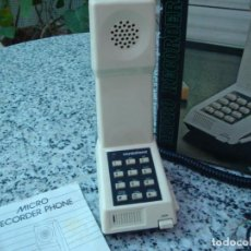 Vintage: TELEFONO MICRO GRABADOR. Lote 195137508