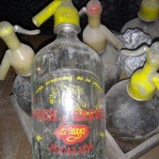 Vintage: SIFONES ANTIGUOS POCH I CARNE LA NOY IGUALADA. Lote 195238621