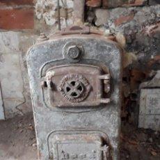 Vintage: CALDERA CARBON ROCA SERÍE 0 HIERRO RADIADOR ESTUFA. Lote 195254032