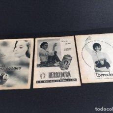 Vintage: PUBLICIDAD VINTAGE HERRADURA, LANAS MARGARITA.... Lote 195322032