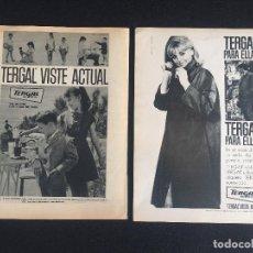 Vintage: PUBLICIDAD VINTAGE ,TERGAL.. Lote 195322473