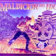 Vintage: JUEGO DE MESA LA MALDICIÓN DEL IDOLO.. Lote 195338438
