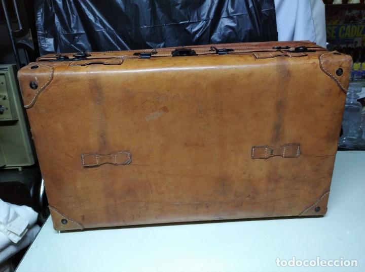 Vintage: Maleta de piel. Marca Giovanni, Original Bagages. - Foto 4 - 195340931